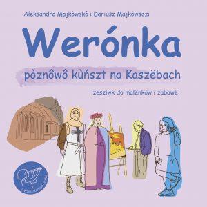 Okładka książki Werónka poznaje sztukę na Kaszubach