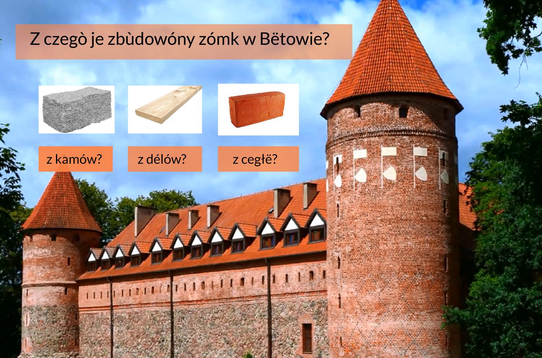 Zdjęcie zamku w Bytowie