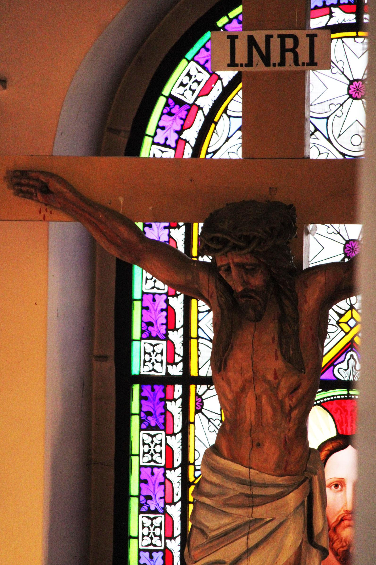 Chrystus umierający na krzyżu