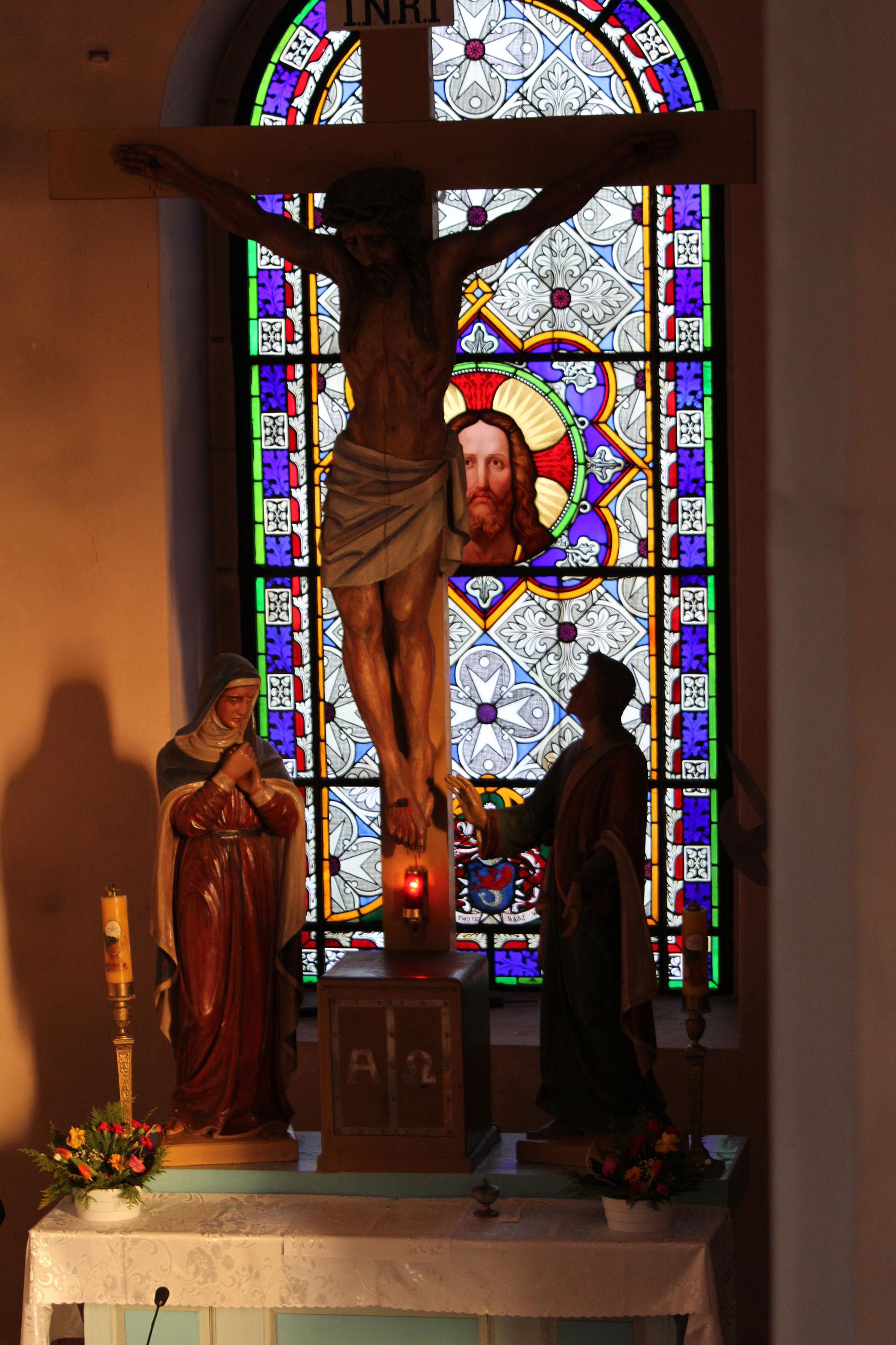 Figury Marii i Jana