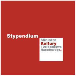 logotyp stypendium Ministra Kultury i Dziedzictwa Narodowego
