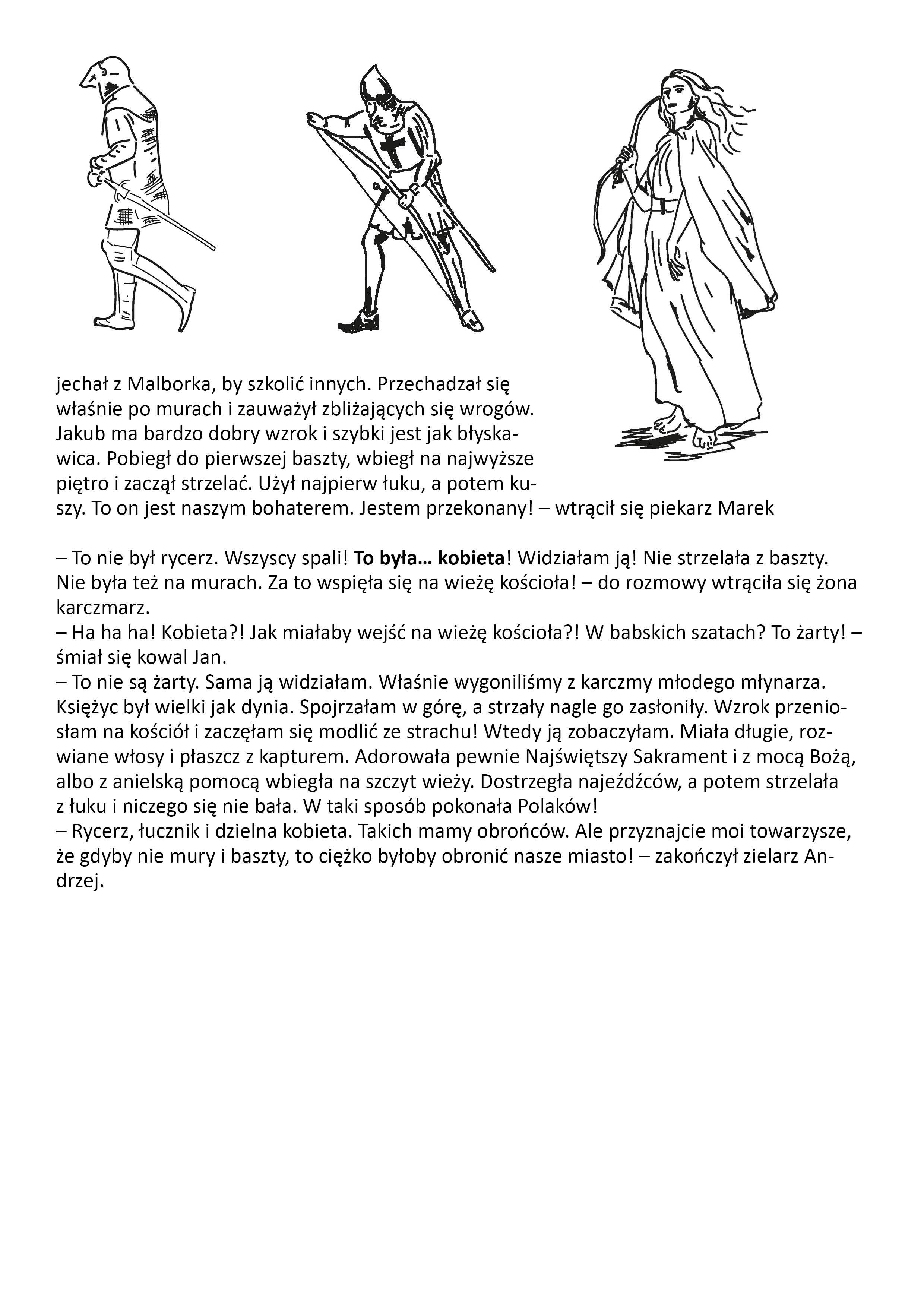 druga strona opowiadania w języku polskim