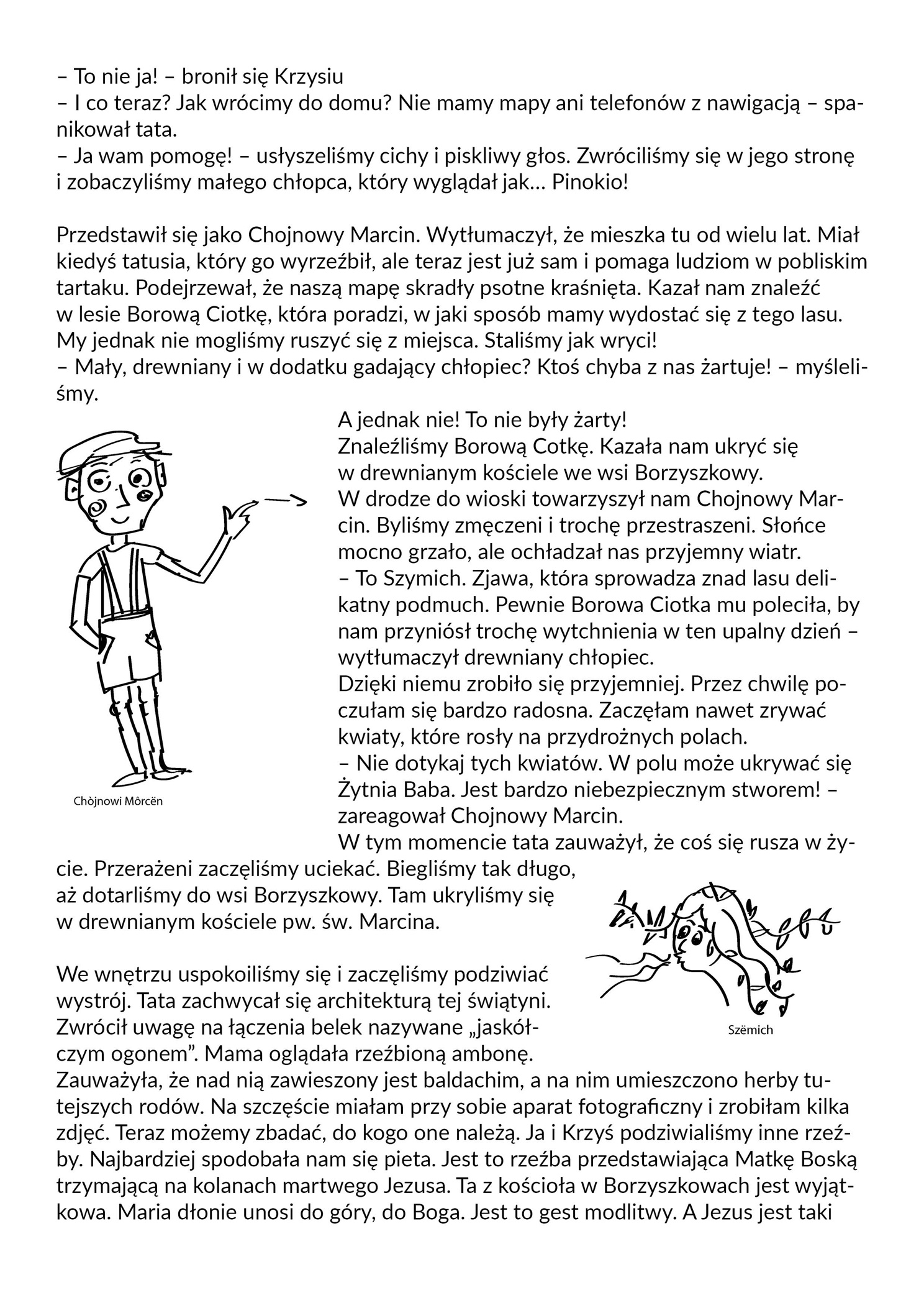 druga strona opowiadania w jezyku polskim