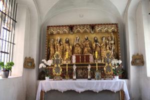 Ołtarz gotycki kartuzy