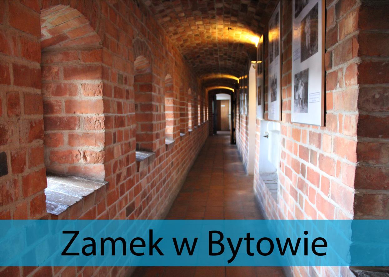 korytarz w zamku w Bytowie