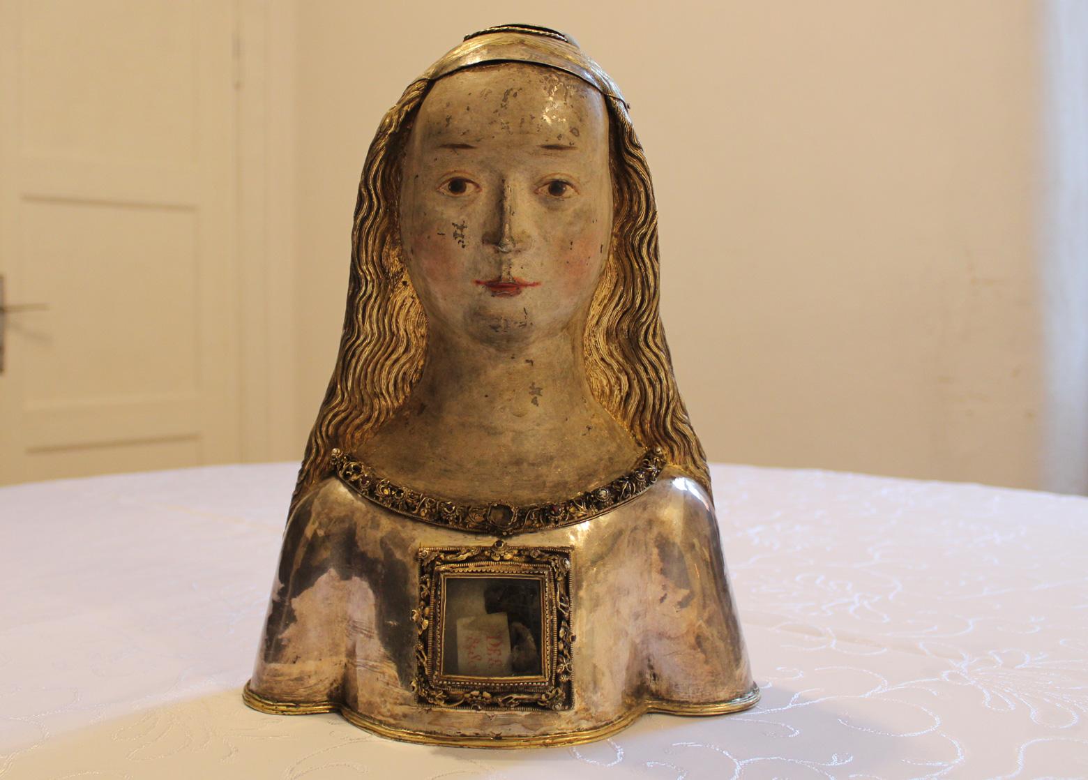 relikwiarz hermowy świętej urszuli bez korony