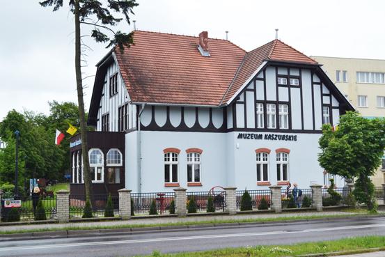 budynek Muzeum Kaszubskiego w Kartuzach