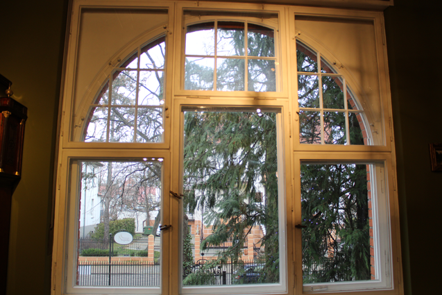 okno podzielone