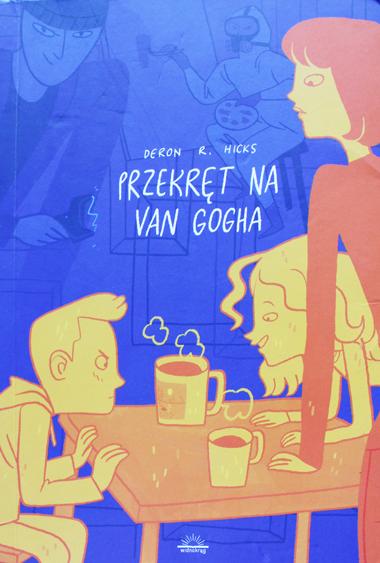 Wydawnictwo dla młodzieży o skradzionym obrazie mistrza van Gogha