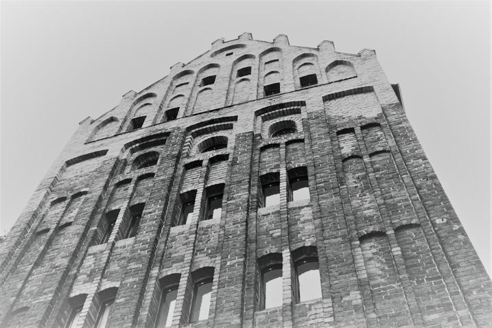 Gotycka wieża w Słupsku